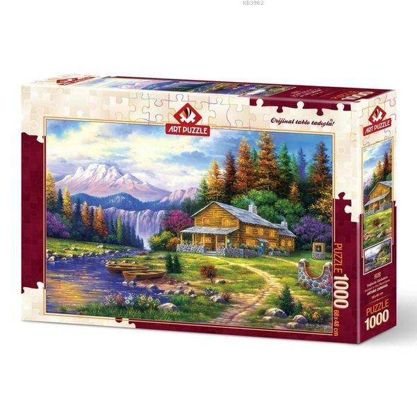 Art Puzzle 4230 Dağlarda Günbatımı 1000 Parça
