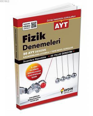 Aydın Yayınları AYT Fizik 30 Deneme 2020 Özel Aydın