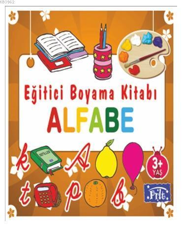 Eğitici Boyama Kitabı - Alfabe; 3 Yaş Üstü