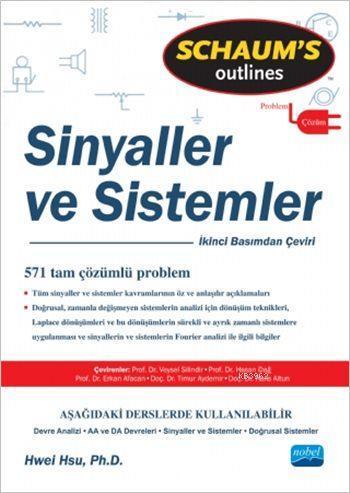 Sinyaller ve Sistemler; Signals and Sistems - Schaum's