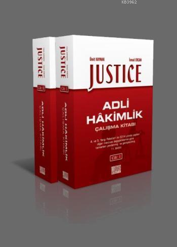Justice - Adli Hakimlik Çalışma Kitabı 2 Cilt