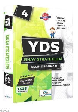 YDS Sınav Stratejileri 4 Kelime Bankası