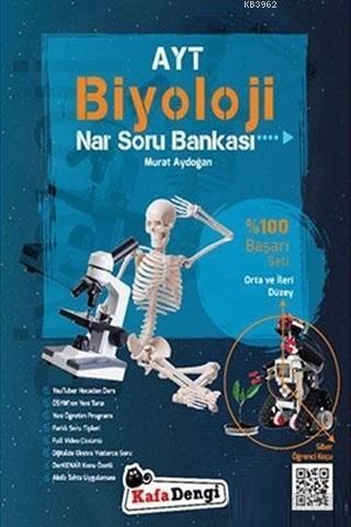 AYT Biyoloji Nar Soru Bankası Orta ve İleri Düzey