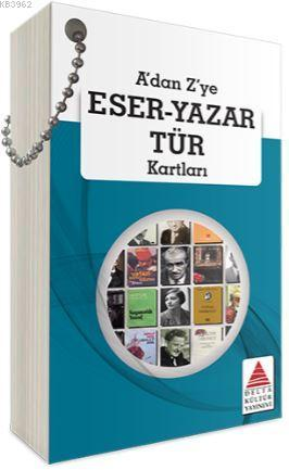 A'dan Z'ye Eser -Yazar Tür Kartları