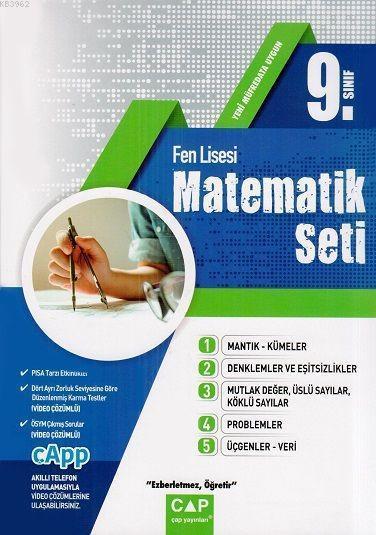 Çap Yayınları 9. Sınıf Fen Lisesi Matematik Seti Çap