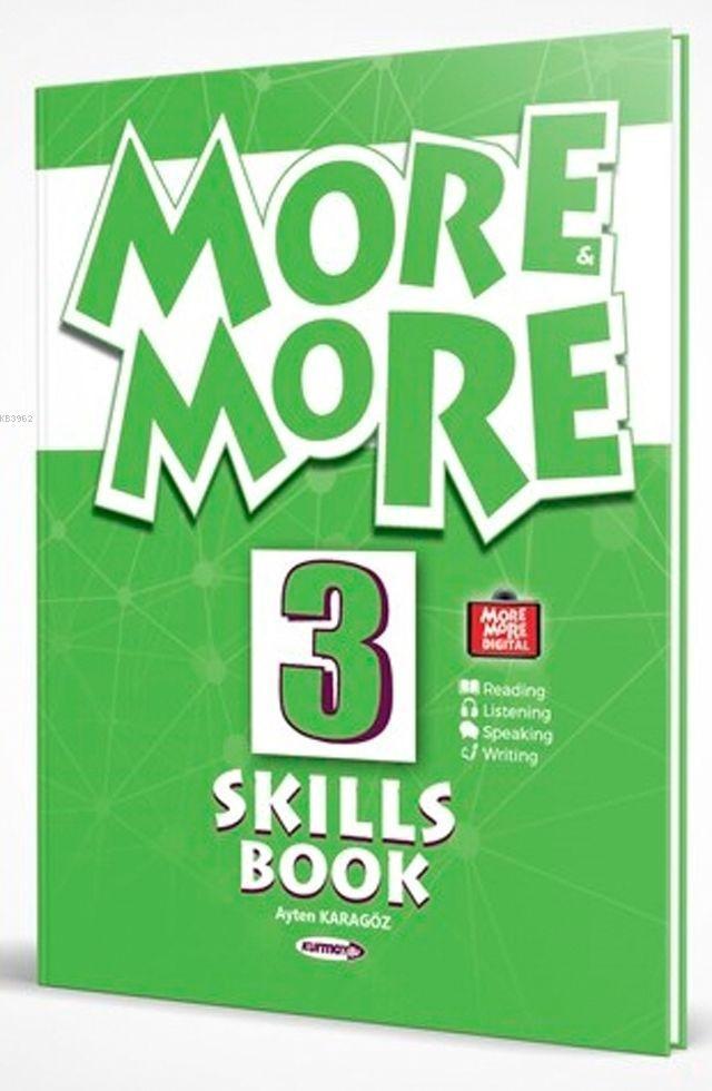 Kurmay ELT Yayınları 3. Sınıf More More English Skills Book Kurmay ELT