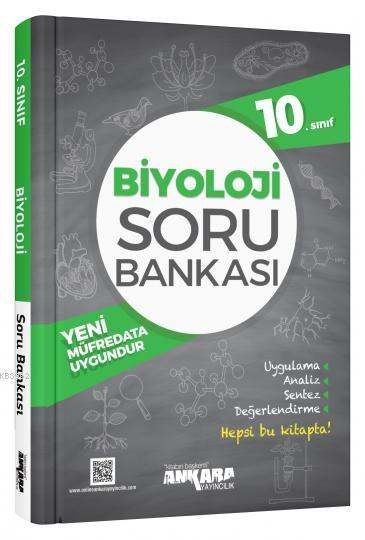 Ankara Yayınları 10. Sınıf Biyoloji Soru Bankası Ankara