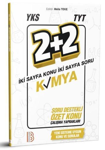 YKS TYT Kimya 2+2 Soru Destekli Özet Konu Yaprakları Benim Hocam Yayınları
