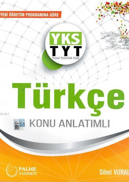 TYT Türkçe Konu Anlatımlı Palme Yayınları