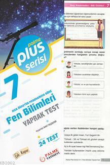 7.Sınıf Plus Serisi Fen Bilimleri Yaprak Test