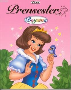 Prensesler Boyama 4