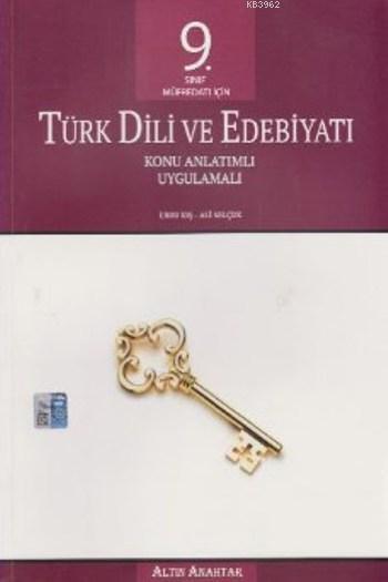 9. Sınıf Türk Dili ve Edebiyatı Konu Anlatımlı Uygulamalı