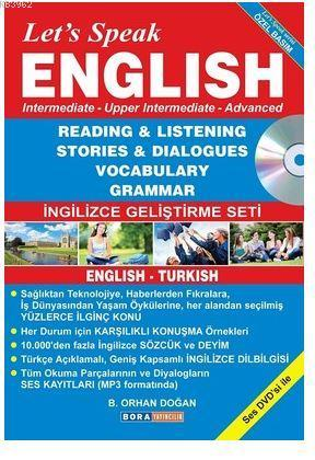 Let's Speak English (Özel Basım); Reading - Listening Stories - Dialogues Vocabulary - Grammar İngilizce Geliştirme Seti