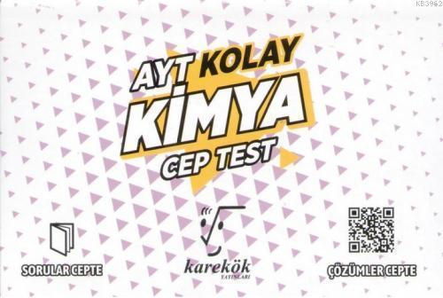 Karekök Yayınları AYT Kimya Kolay Cep Test Karekök