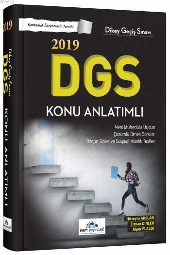 2019 DGS Konu Anlatımlı