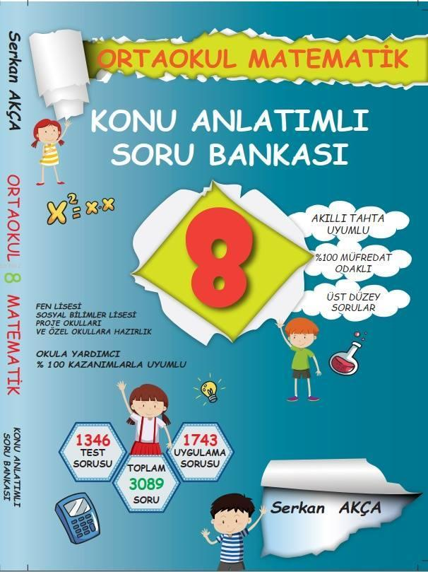 8. SINIF MATEMATİK KONU ANLATIMLI SORU BANKASI