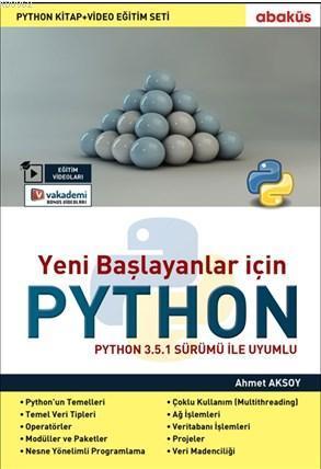 Python (Video Eğitim Seti İle); Yeni Başlayanlar İçin Python 3.5.1 Sürümü İle Uyumu