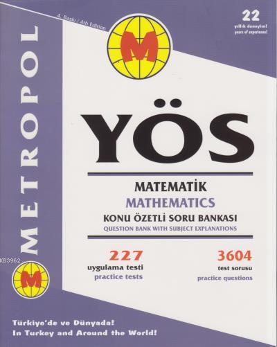YÖS Matematik Konu Özetli Soru Bankası