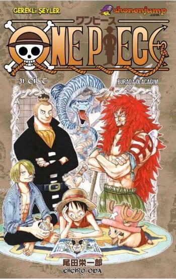 One Piece Cilt 31: Burada Olacağım