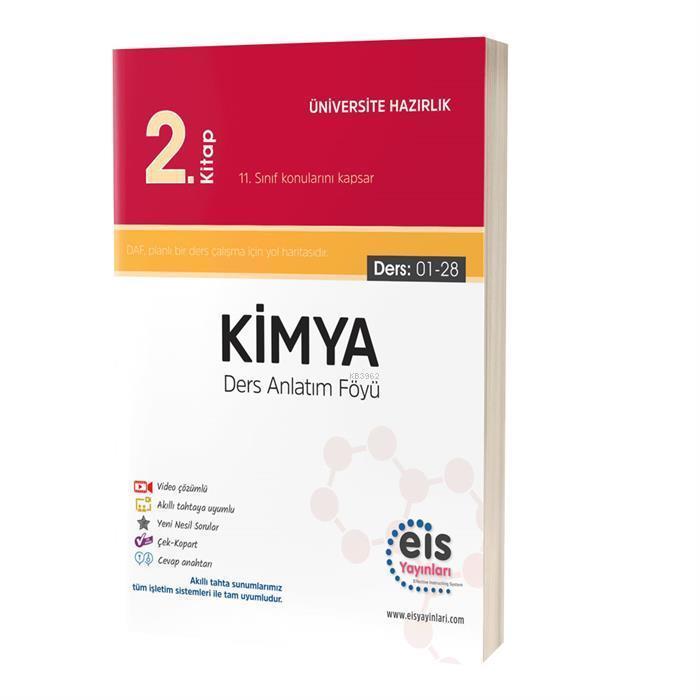 EIS - YKS Ders Anlatım Föyü Kimya 2.Kitap