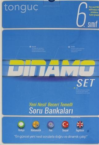 Tonguç 6.Sınıf Dinamo Tüm Dersler Soru Bankası Set