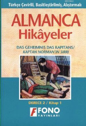 Almanca Türkçe Hikayeler Derece 2 Kitap 1 Kaptan Normanın Sırrı