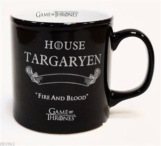 Game of Thrones Siyah Kupa - Silver Targaryen