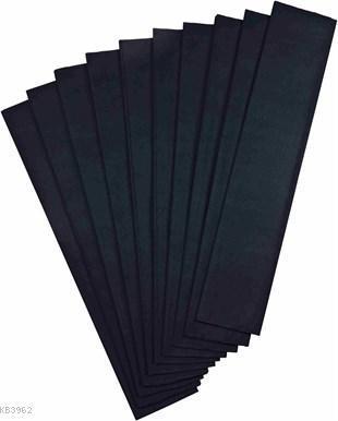 Ginza GN-305 Krapon Kağıdı 10`lu Siyah
