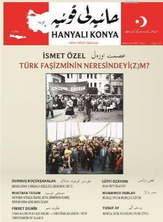 Hanyalı Konya Kollektif - Aylık Dergi Yıl: 1 - Sayı: 5