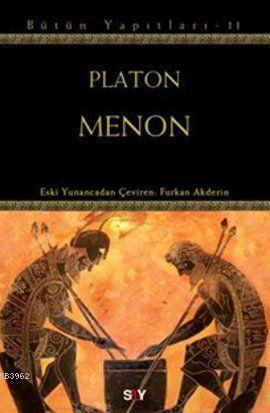 Menon; Platon Bütün Yapıtları 11