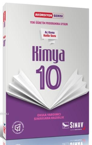 Sınav Dergisi Yayınları 10. Sınıf Kimya Akordiyon Serisi Aç Konu Katla Soru Sınav Dergisi