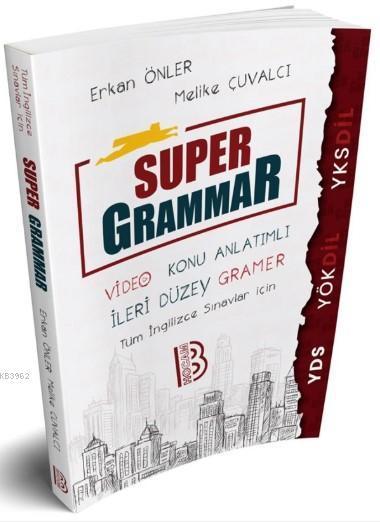 YDS YÖKDİL YKSDİL Super Grammar Video Konu Anlatımlı Benim Hocam Yayınları