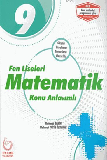 9. Sınıf Matematik Konu Kitabı Palme Yayınevi