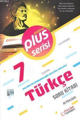 7. Sınıf Türkçe Plus Serisi Soru Kitabı Palme Yayınevi