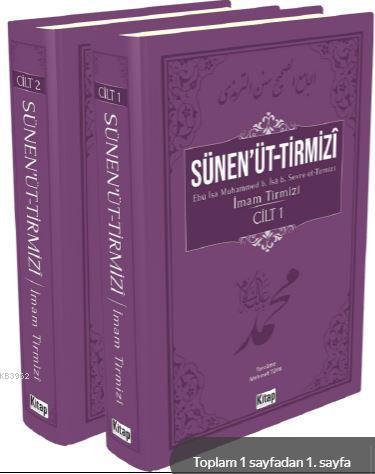 Sünen'üt-Tirmizî (2 Cilt)
