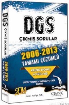 DGS Konu Konu Çözümlü 2006 - 2013 Çıkmış Sorular