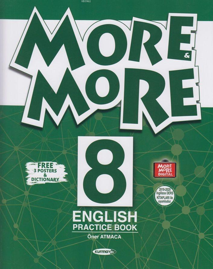 Kurmay ELT Yayınları More and More 8 English Practice Book Kurmay ELT