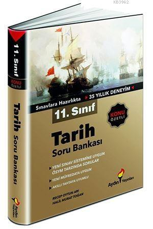 Aydın Yayınları 11. Sınıf Tarih Konu Özetli Soru Bankası Aydın