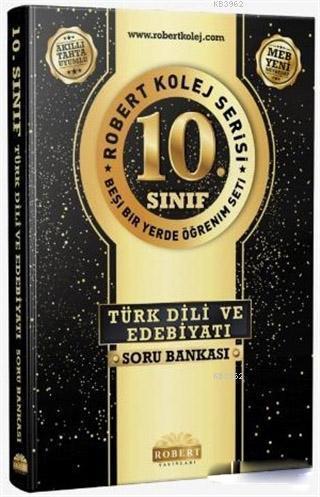 10. Sınıf Türk Dili Edebiyatı Soru Bankası - Robert Kolej Serisi; Beşi Bir Yerde Öğrenim Seti