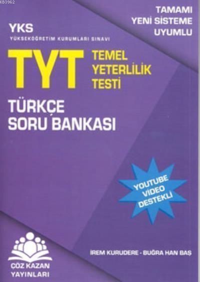 Çöz Kazan YKS TYT Türkçe Soru Bankası