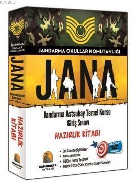 JANA Hazırlık Kitabı; Jandarma Astsubay Temel Kursu Giriş Sınavı