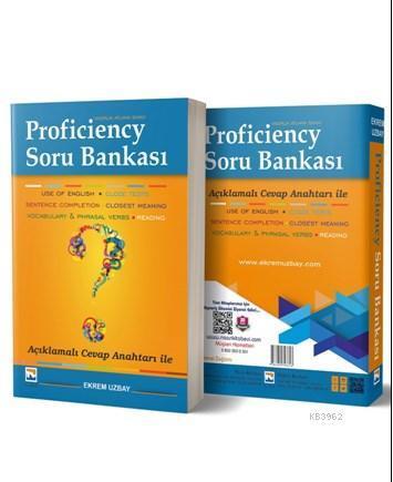 Proficiency Hazırlık Atlama Sınavı Soru Bankası Açıklamalı Cevap Anahtarı ile