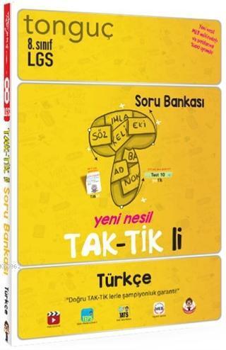 Tonguç 8.Sınıf LGS Türkçe Tak-tik'li Soru Bankası