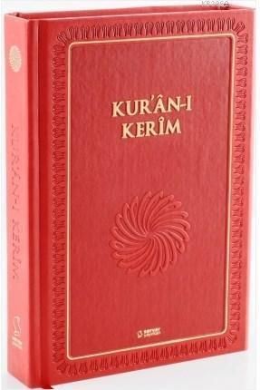 Kur'ân-ı Kerîm (Büyük Boy - Mıklepli - Kırmızı)