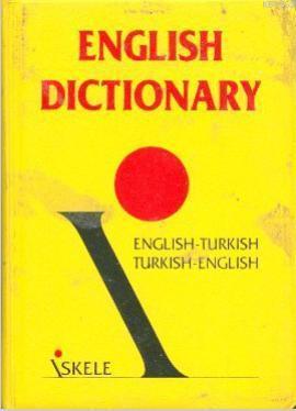 İngilizce-Türkçe/türkçe-İngilizce Sözlük