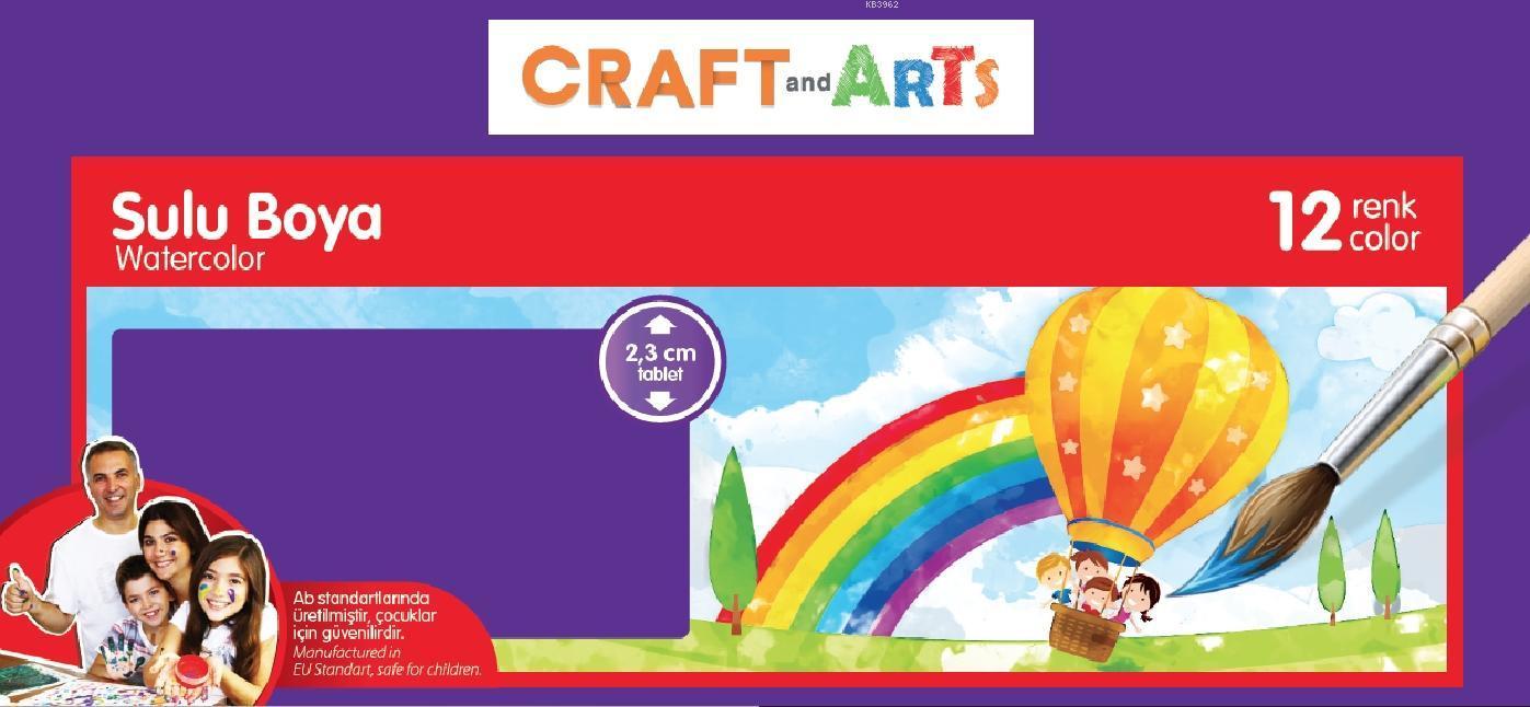 Craft&Arts Suluboya 12 Li U1557