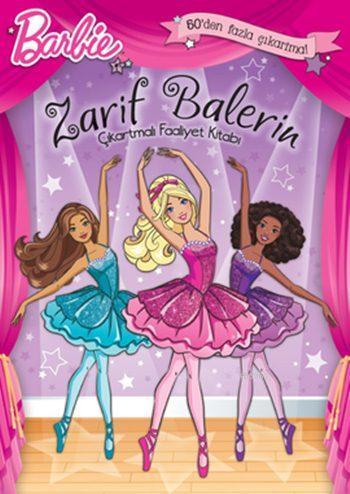 Barbie - Zarif Balerin Çıkartmalı Faaliyet Kitabı