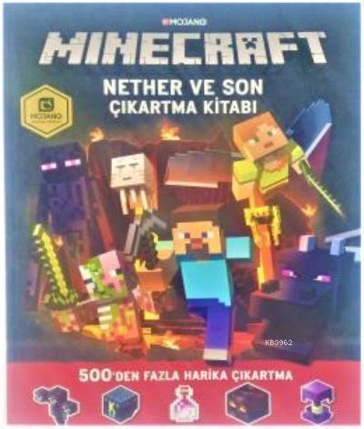 Minecraft Nether ve Sonçıkartma Kitabı