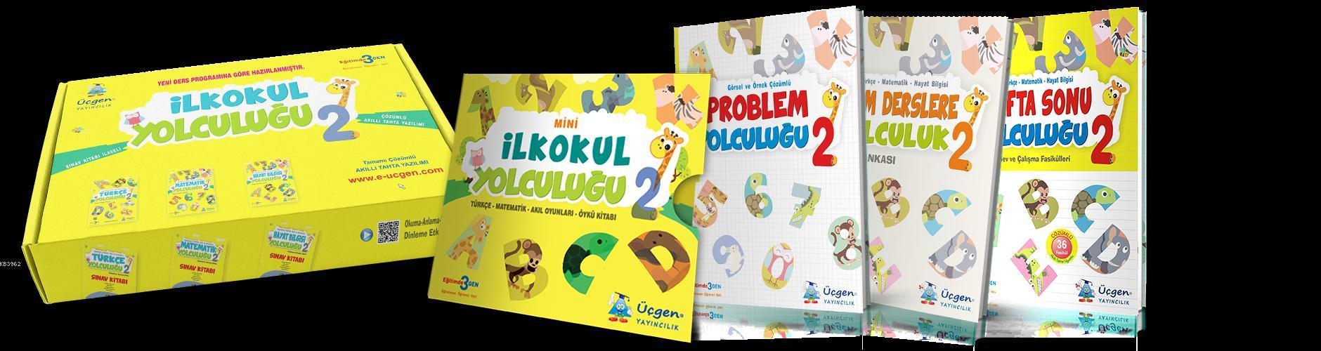 Üçgen Yayınları 2. Sınıf Mini İlk Okul Yolculuğu Seti Üçgen