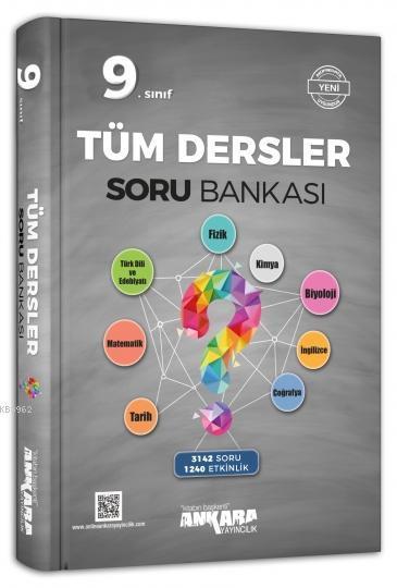 Ankara Yayınları 9. Sınıf Tüm Dersler Soru Bankası Ankara